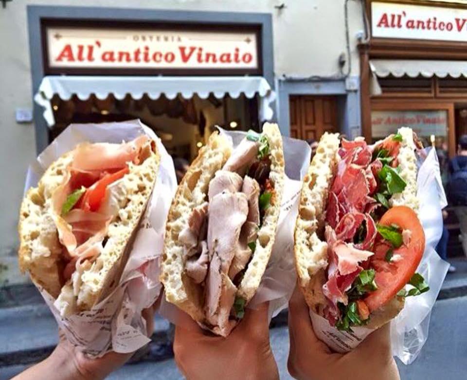 Que y donde comer en Florencia