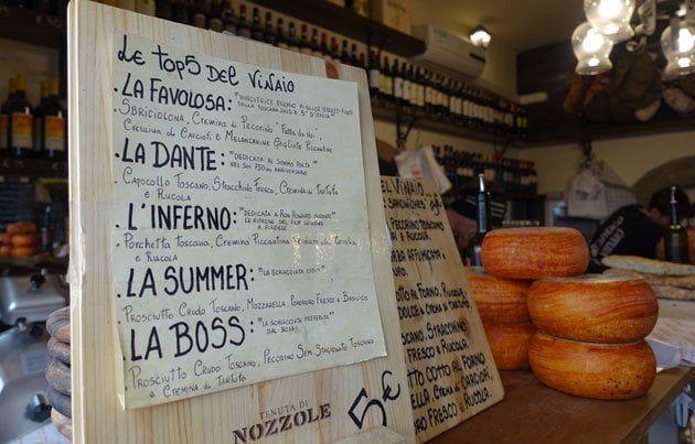 Donde y que comer en Florencia