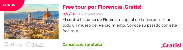 Tour gratis Florencia
