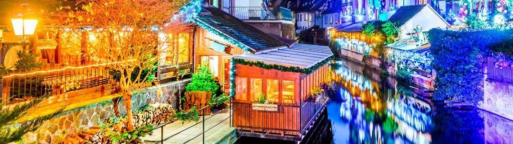 Mercados navideños puente de diciembre Alsacia