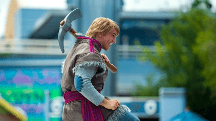 DisneyLand París Frozen Celebration