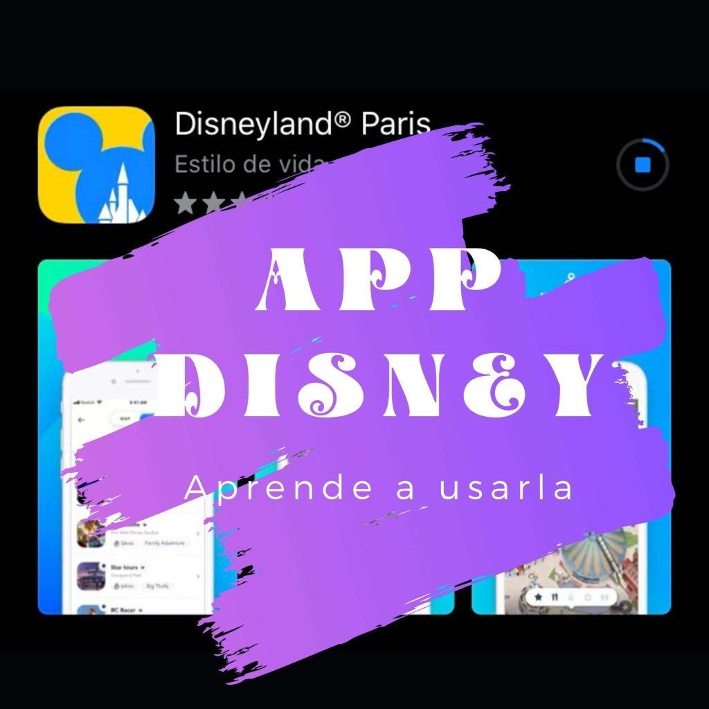 Como usar la app de disneyland París