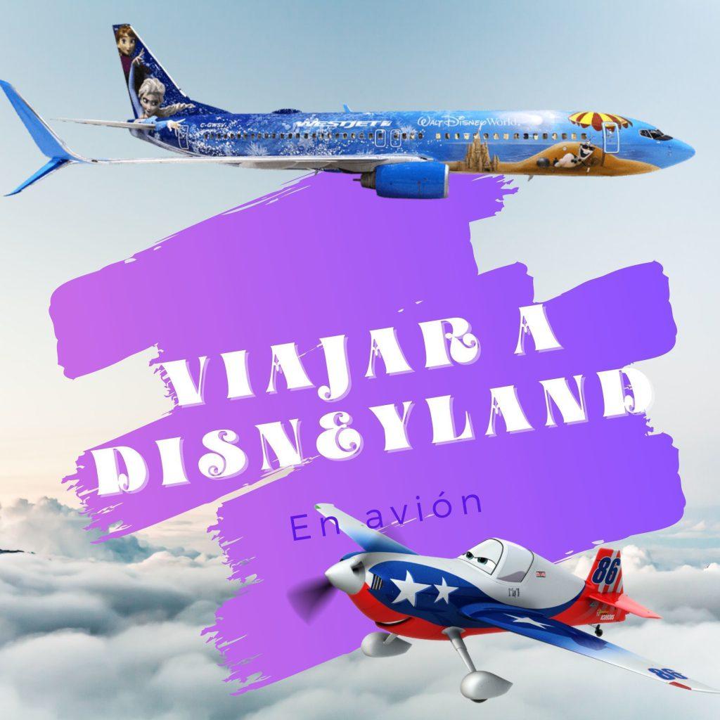 Como viajar a Disneyland Paris en Avión