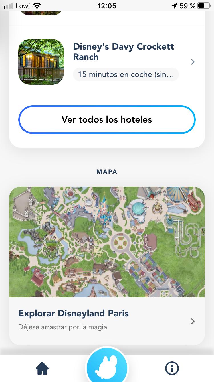 Cómo usar la APP Disneyland París