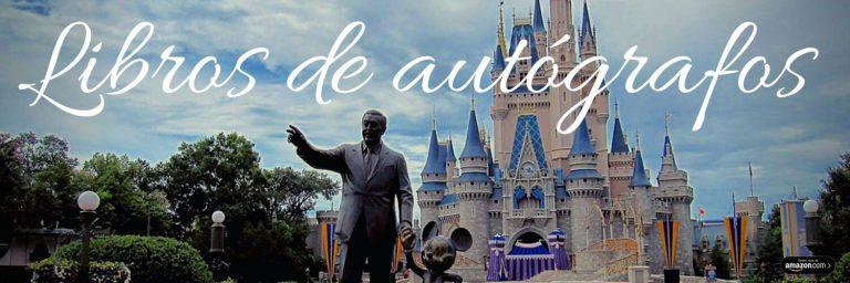 Libros de autografos Disney