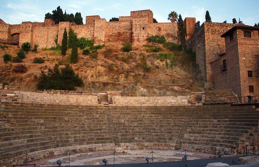 Málaga, Alcazabar