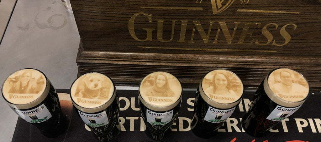 Guinness beer event 1