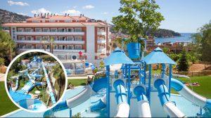 Hoteles con toboganes y parques acuáticos