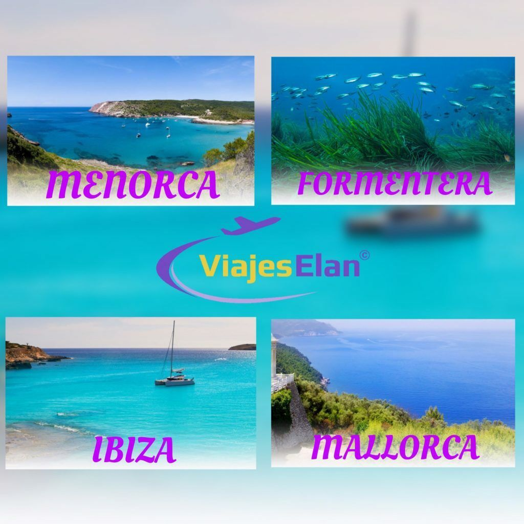 Menorca, Formentera, Ibiza, Mallorca