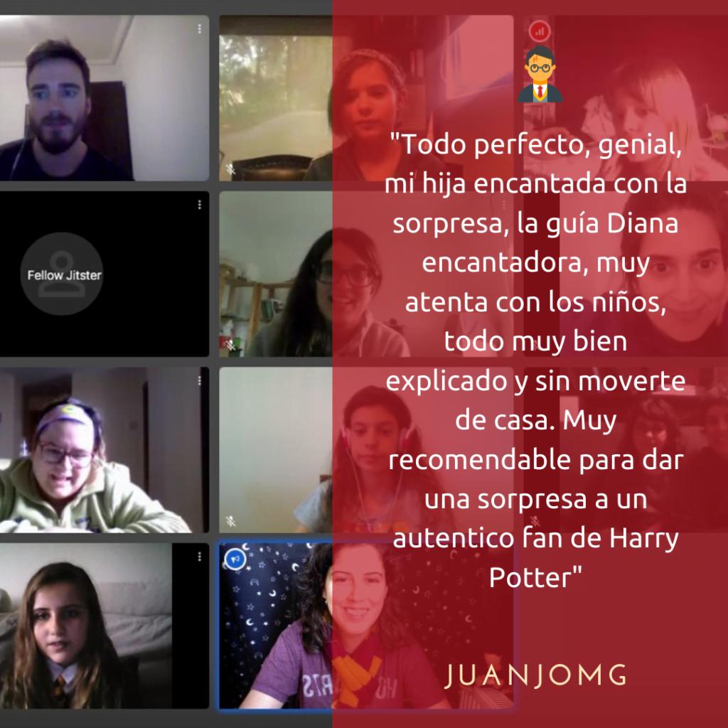 Tour online Harry Potter