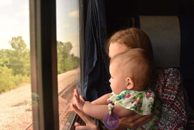 Ventajas de viajar en tren con niños