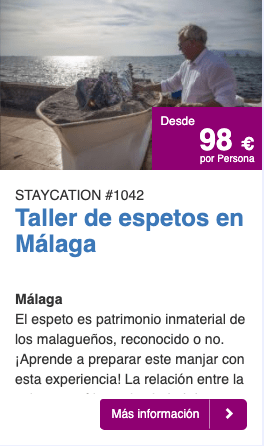 Escapada staycation Malaga