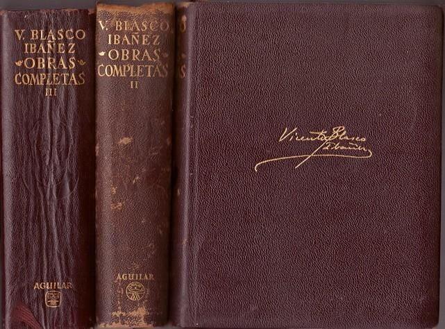 Obras de Vicente Blasco y la Albufera de Valecia