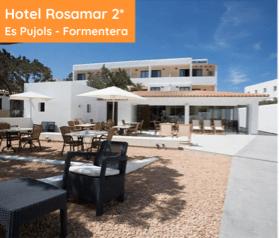 Hotel Rosamar 2* Es Pujols Formentera