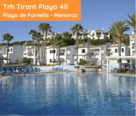 Trh Tirant Playa 4II Playa de Fornells - Menorca