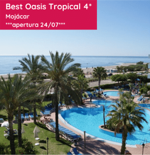 BEST OASIS TROPICAL 4* Mojácar