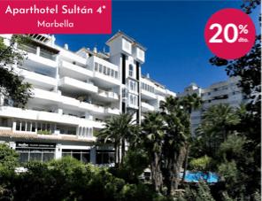 Aparthotel Sultán -Oferta agosto 2020