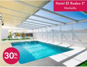 Hotel el Rodeo - oferta Agosto
