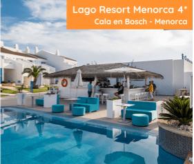 Lago Resort Menorca- oferta especial