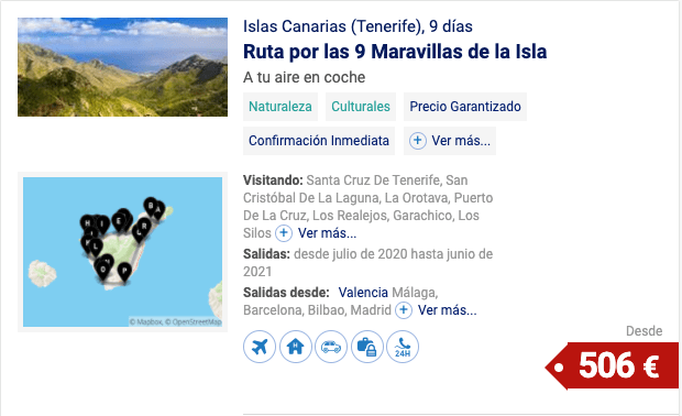 Islas Canarias (Tenerife)