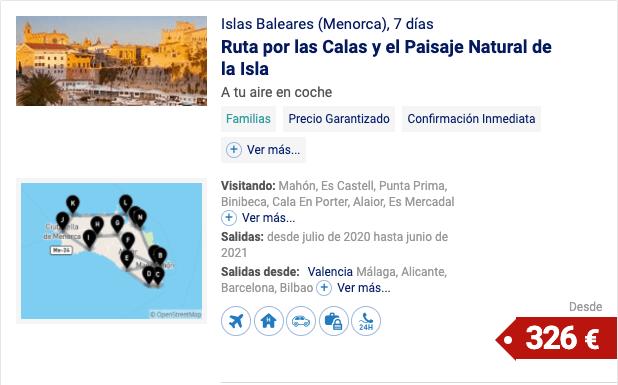 Islas Baleares (Menorca)