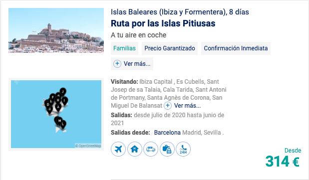 Islas Baleares (Ibiza y Formentera)