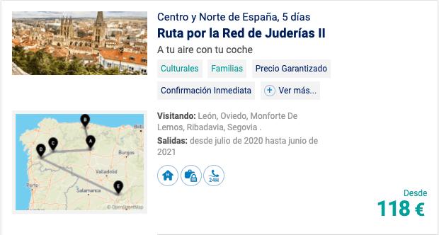 Centro y Norte de España