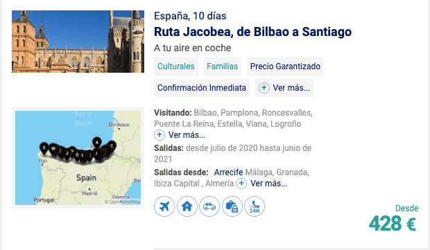 Ruta Jacobea, Bilbao