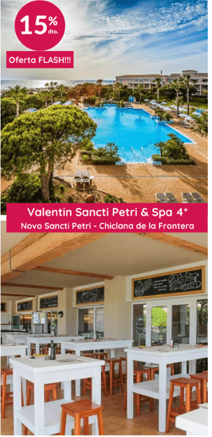 Valentin Sancti Petri & Spa 4* (Chiclana de la Fronter)