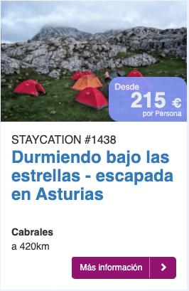 Durmiendo bajo las estrellas- asturias