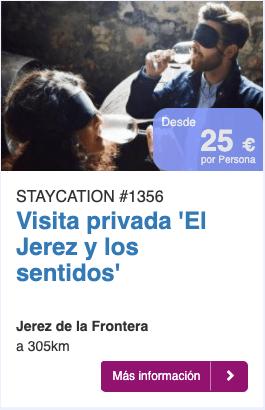 """Visita priva """"El Jerez y los sentidos"""