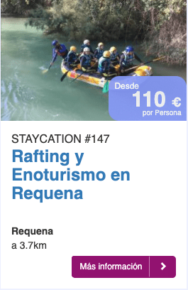 Rafting y Enoturismo en requena
