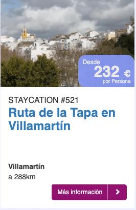 Ruta de la Tapa en Villamartín