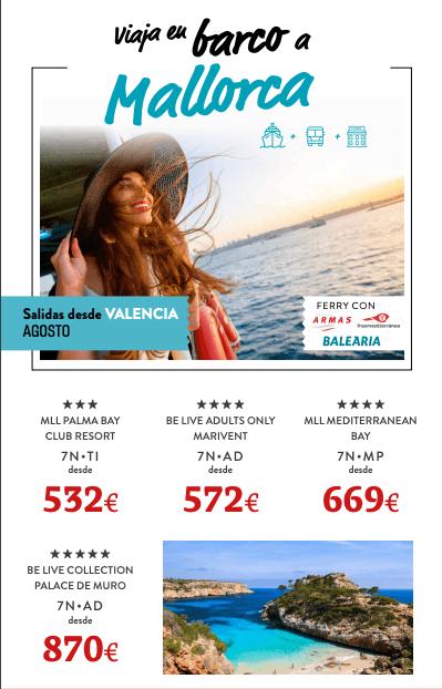 barco a Mallorca