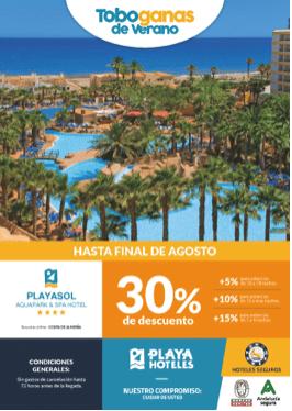 Playasol Aquapark Spa hotel