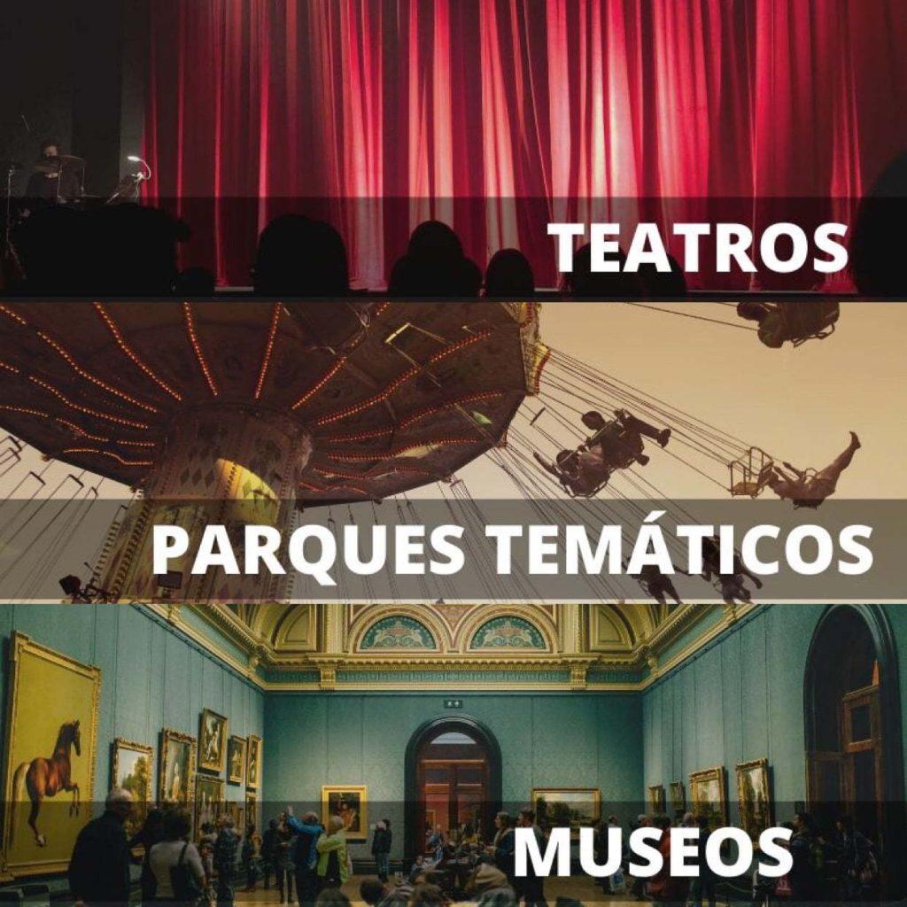 ENTRADAS TEATROS, PARQUES TEMÁTICOS Y MUSEOS