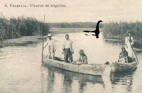 Foto del monstruo de la albufera de Valencia