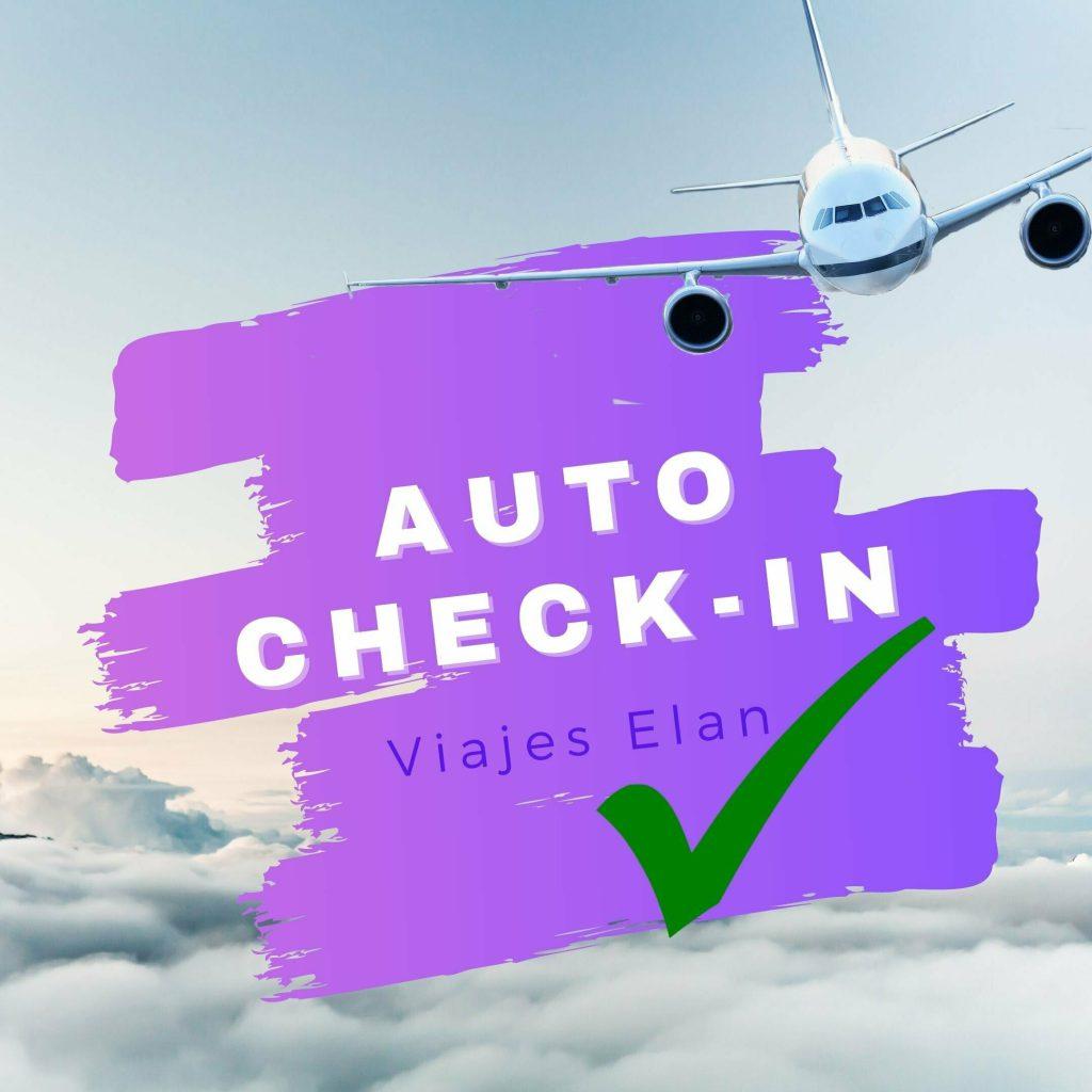Auto check in online vuelos