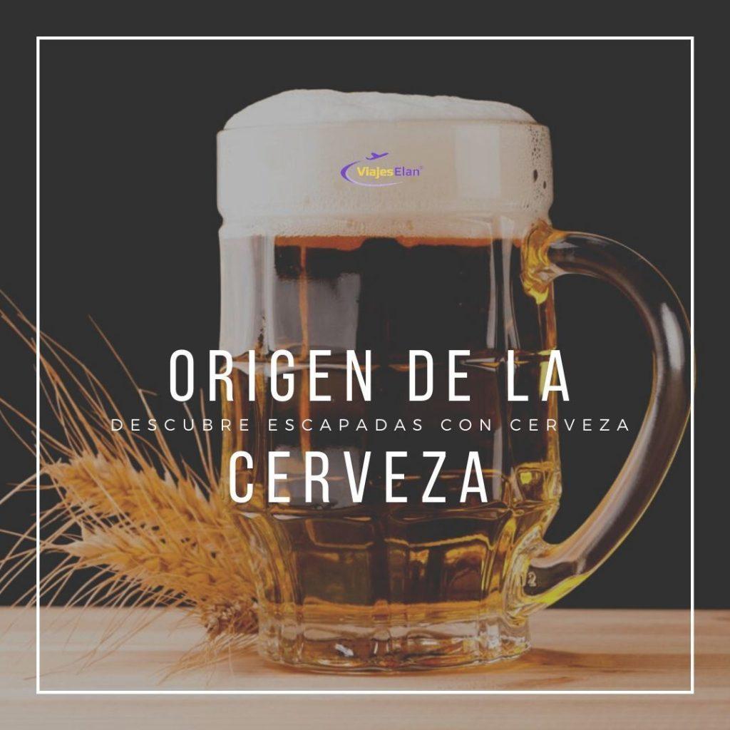 Origen de la cerveza y escapadas con cerveza