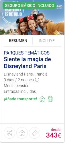 Siente la magia de Disneyland París