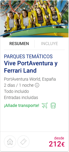 Vive PortAventura y Ferrari Land