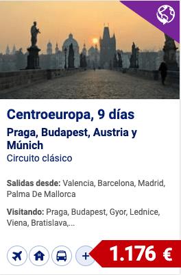 centroeuropa, Praga, budapest, austria y munich