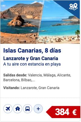 Islas Canarias, Lanzarote y Gran Canaria