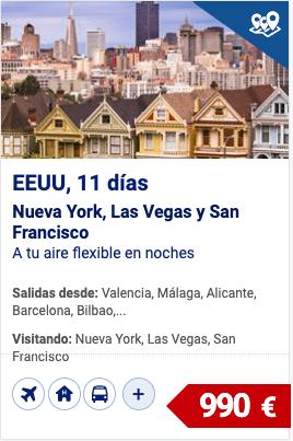eeuu, nueva york, las vegas y san francisco