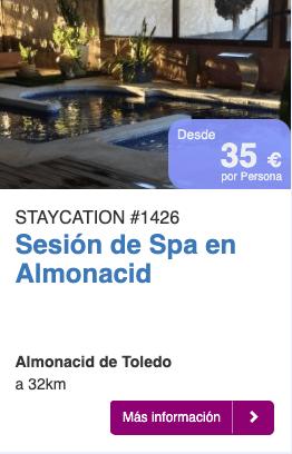 SESIÓN DE SPA EN ALMONACID