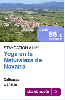 Yoga en la Naturaleza de Navarra