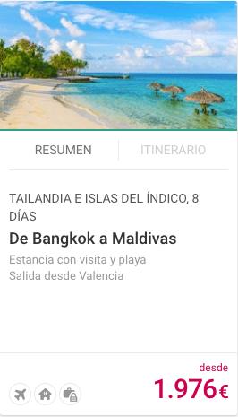 DE BANGKOK A MALDIVAS
