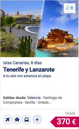 TENERIFE Y LANZAROTE