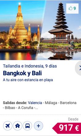 BANGKOK Y BALI