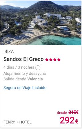 SANDOS EL GRECO 4*